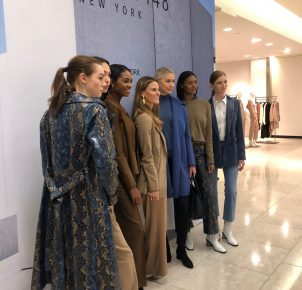 The new Fall Collection of Lafayette 148 with Brooke Jaffe